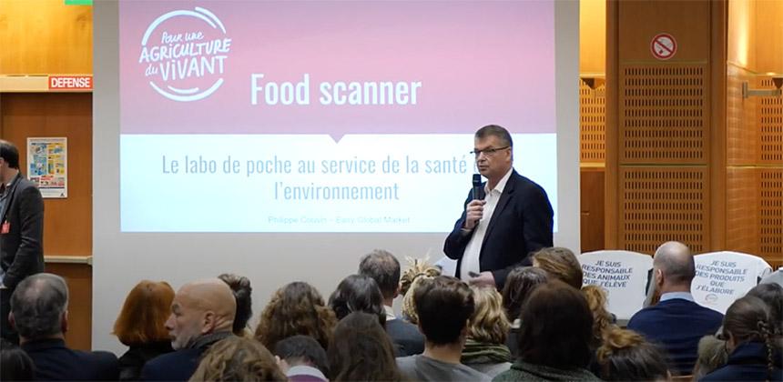 Présentation EGM Food Scanner