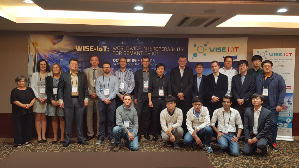 EGM at the IoT week in Korea